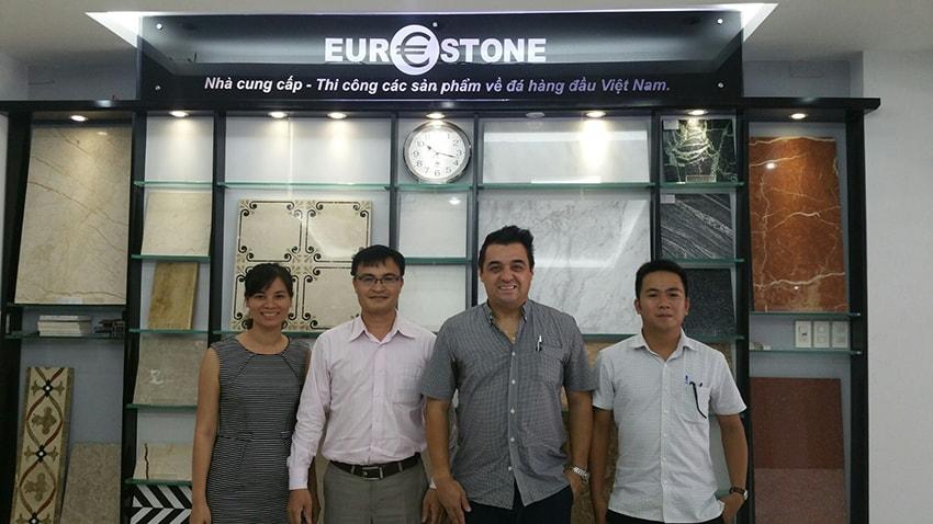 Eurostone làm việc cùng Tenax Italy – Nhà cung cấp giải pháp toàn diện cho đá tự nhiên