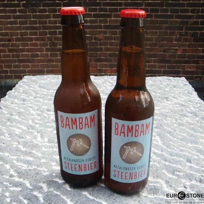 Dư vị tự nhiên của đá trong bia BamBam Steenbier