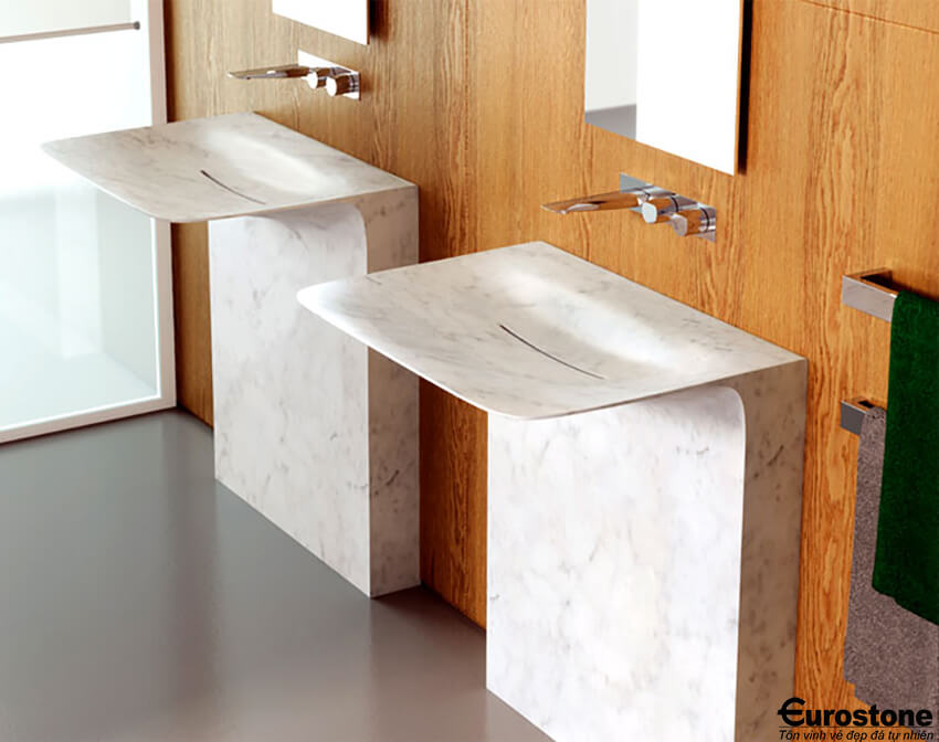bàn đá lavabo 3