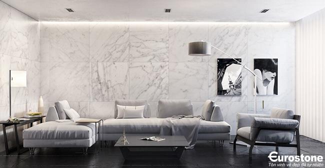 da marble phong khach