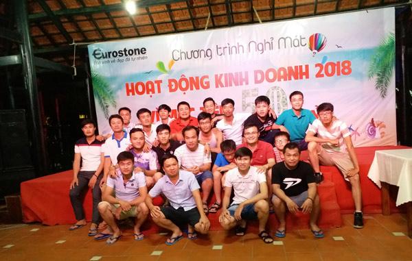 Teambuilding kết hợp nghỉ mát tạo gắn kết dưới mái nhà Eurostone